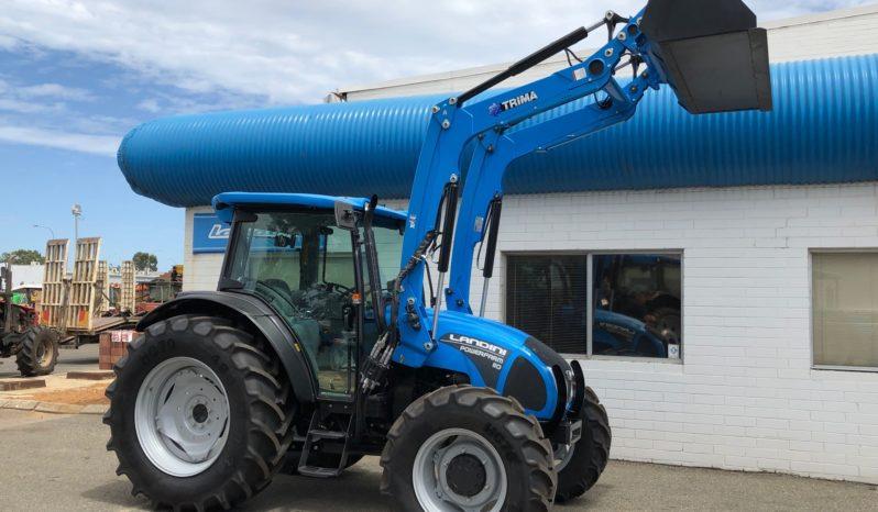 NEW Landini Powerfarm DT110 Tractor & Loader with Bucket & Hay forks – Synchro shuttle full